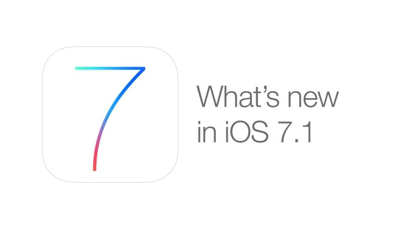 Apple Pushes Out IOS 7.1