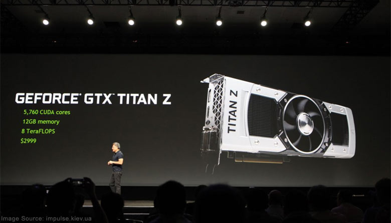 Nvidia unveils dual-GPU Titan Z at GDC