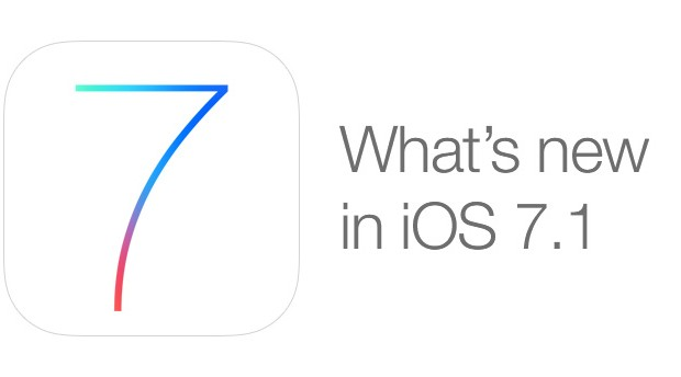 Apple Pushes Out iOS 7.1 Update For iPads And iPhones