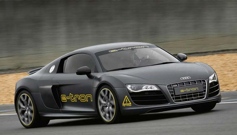 Next Audi R8 E-Tron Could Have 280-Mile Range