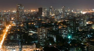 Mumbai-India-at-night