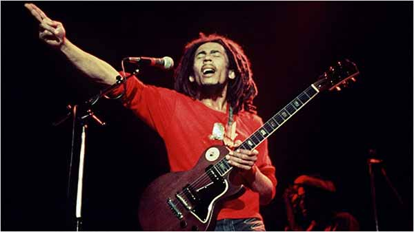 Copyright dispute over Bob Marley songs