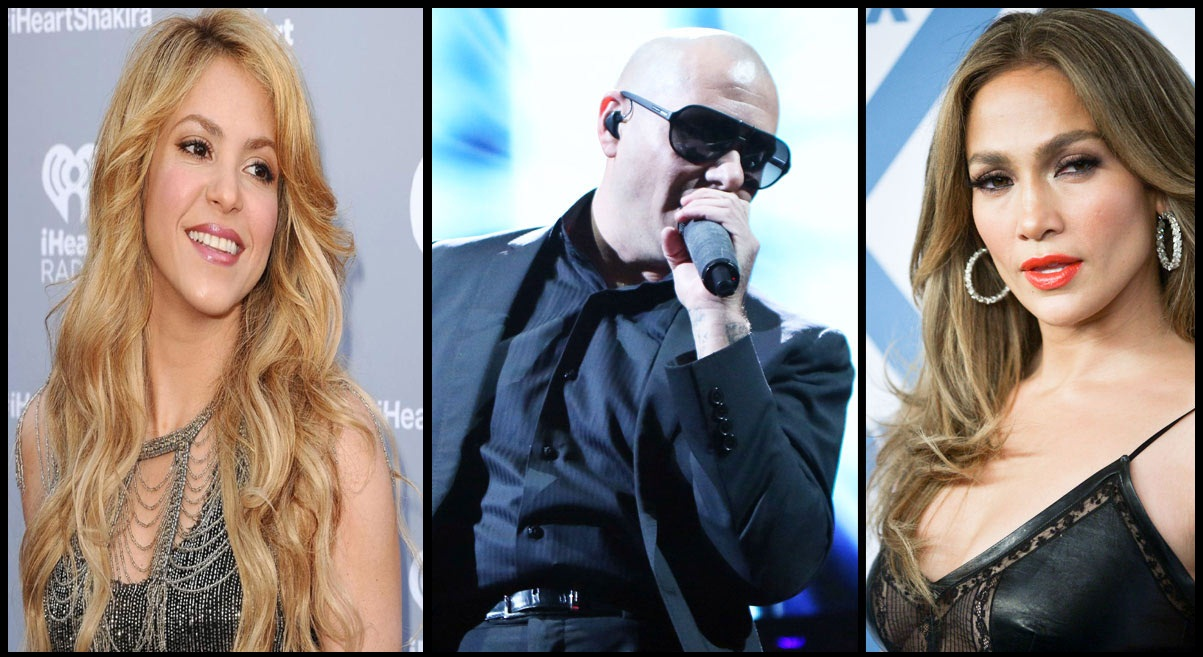 Shakira, Jennifer Lopez, And Pitbull