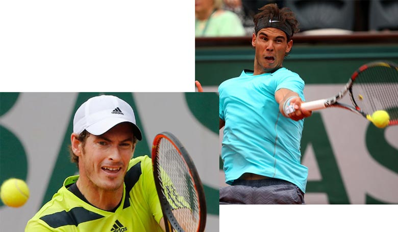 Murray to face Nadal in French Open Semifinals