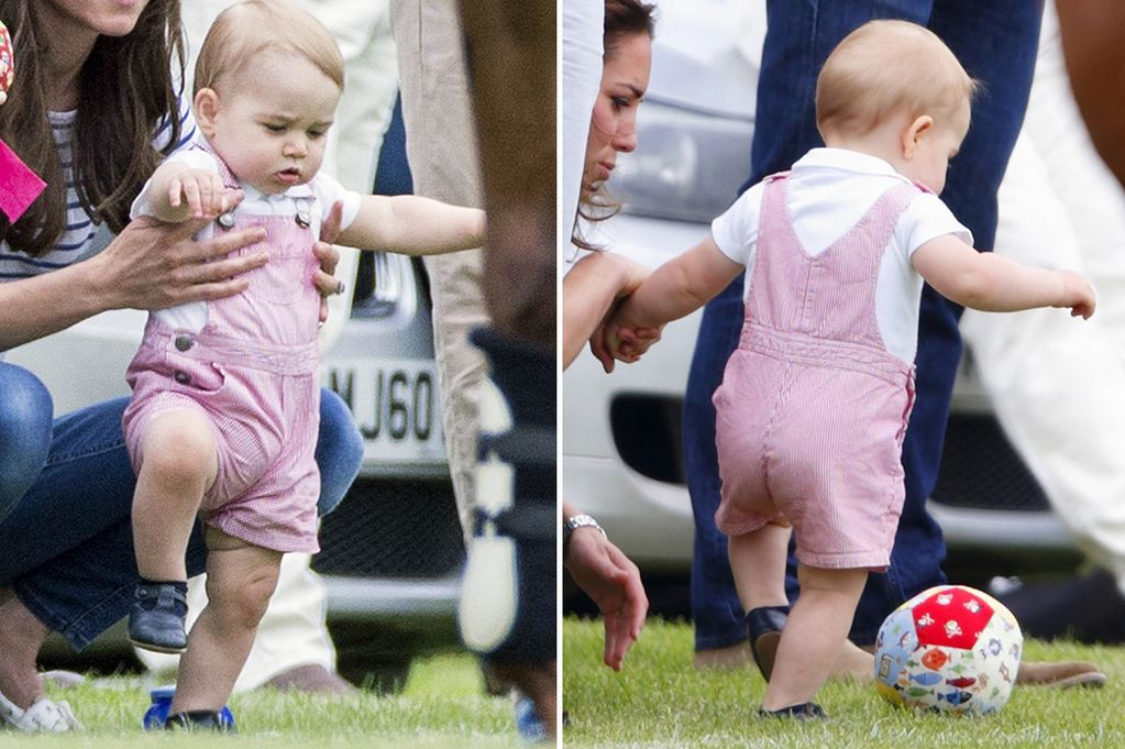 Baby George outshines Prince William in Father's Day Polo Match