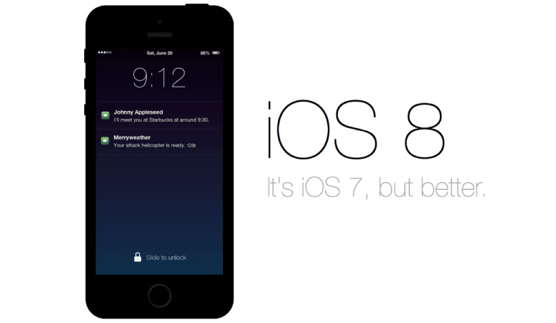 Everything Smarter with the New iOS8