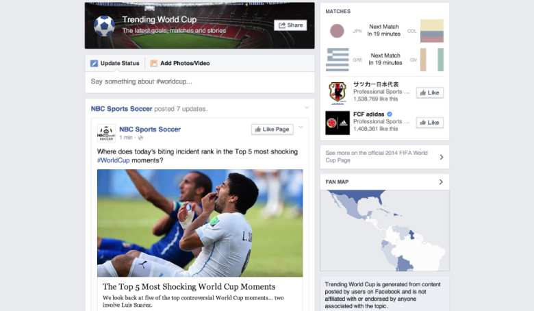 Facebook's Aggressive