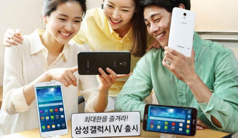 Samsung announces 7-inch Galaxy W smartphone