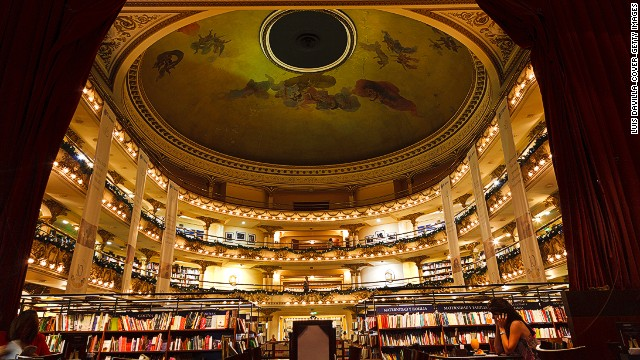 140722113109-coolest-bookstores-10-library-el-ateneo-circular-roof-horizontal-gallery