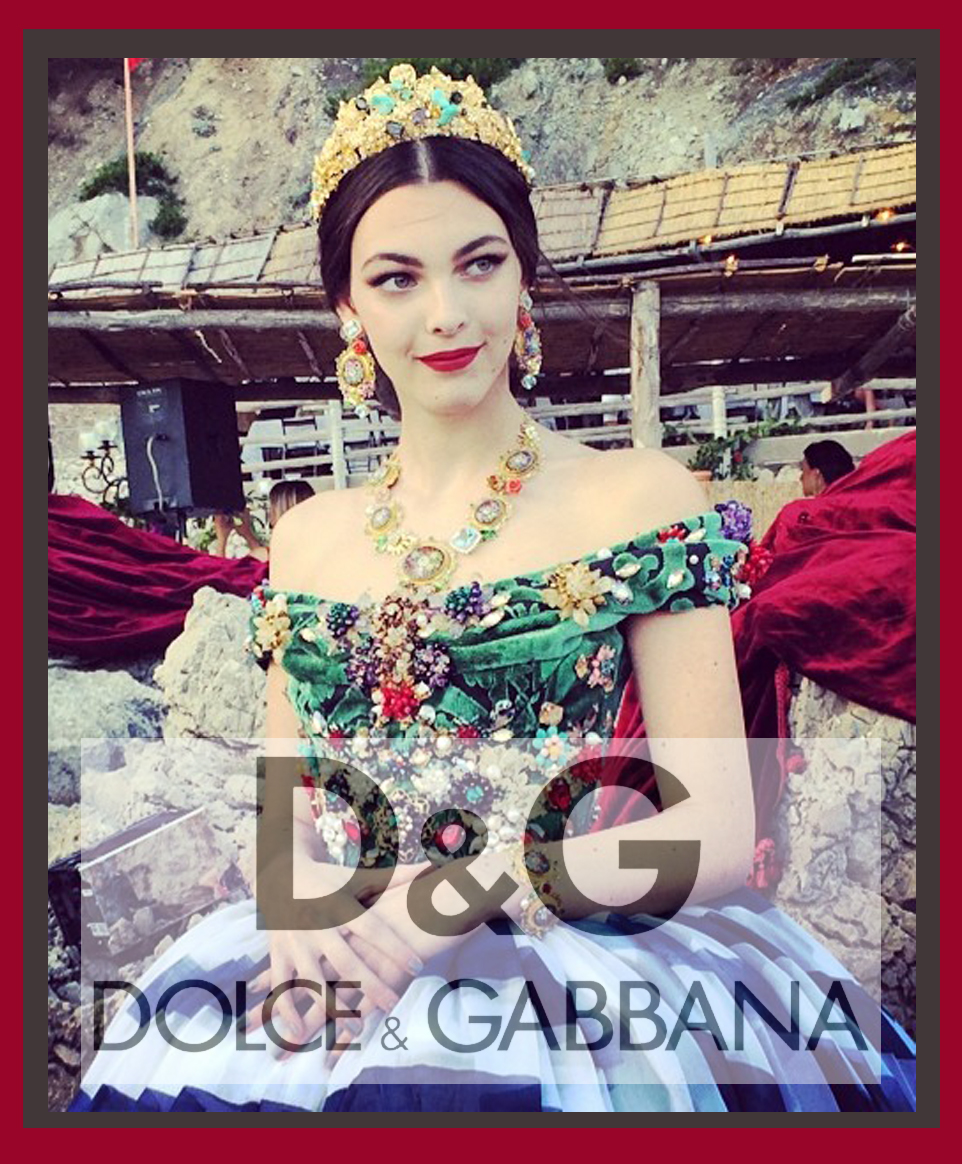 Dolce and gabbana alta moda vintage holiday presents for Moda vintage