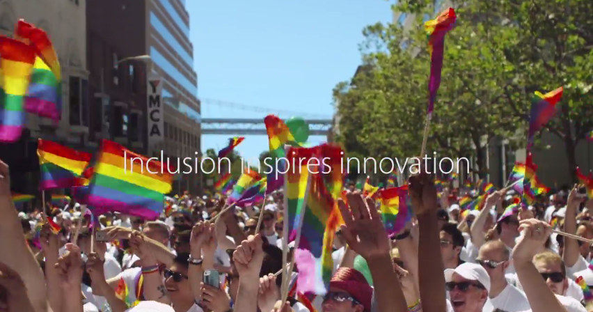 apple-san-francisco-pride-parade