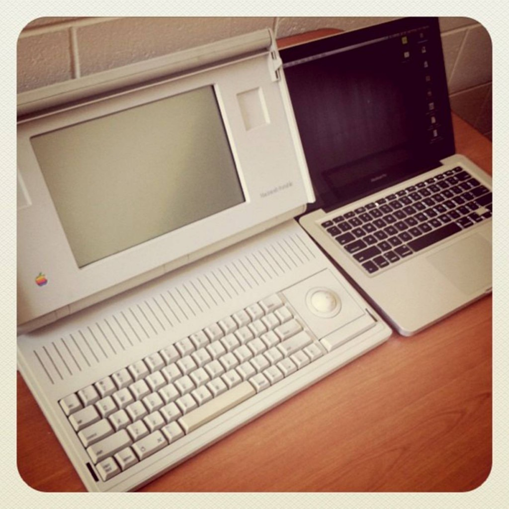The-Macintosh-Portable-left-was-Apples-first-laptop-computer-Aside-from-display-and-battery-issues-the-Mac-Portable-was-plain-expensive-costing-7300-when-it-came-out-in-1989-