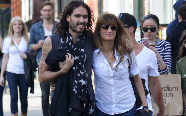 Jemima Khan and Russell