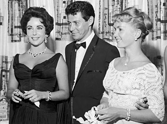 Eddie Fisher & Debbie Reynolds + Elizabeth Taylor. This is perhaps one of the most scandalous stories in Hollywood as Fisher left his wife Reynolds for Taylor. Reynolds and Taylor remained good friends over the years though.