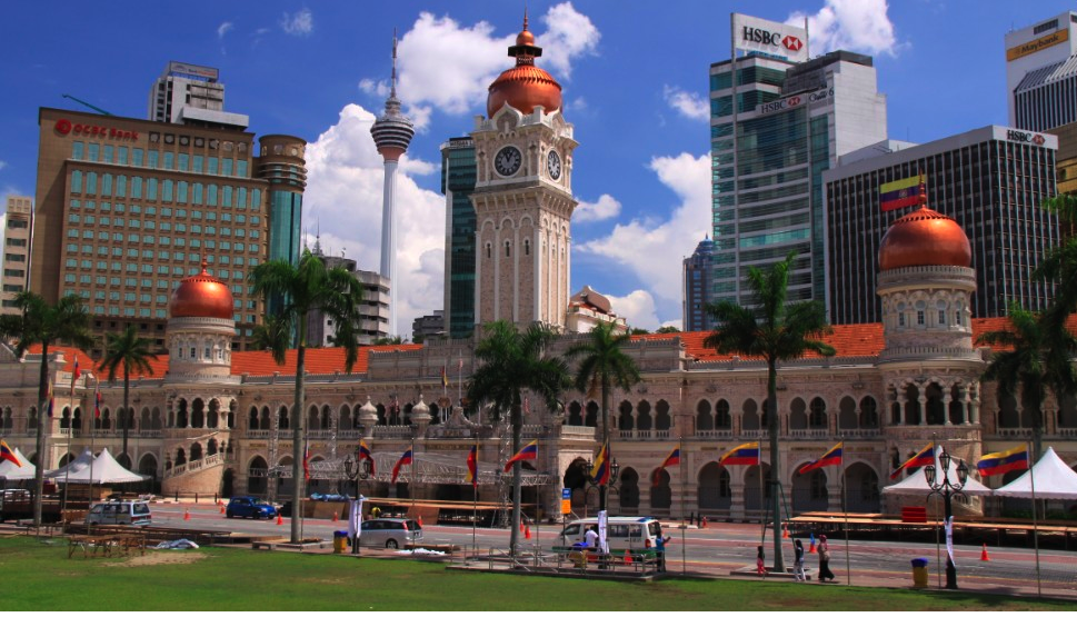 Sultan Abdul Samad Building's Clock Tower