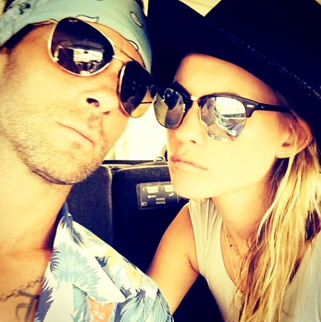 adam-levine-and-behati-prinsloo-shares-first-picture-since-wedding-newlyweds-looking-fab-and-gorgeous