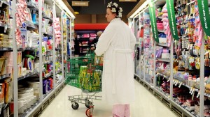 woman-shopping-in-pajamas