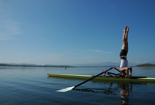 yoga rowing