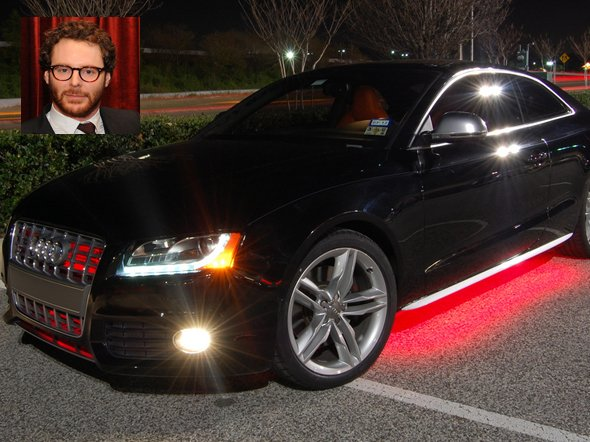 3 Sean Parker's Audi S5 ($50,900) and Tesla Model S