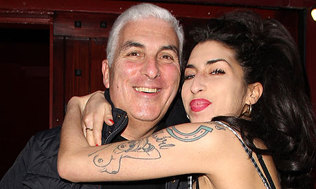 Amy with Her Father