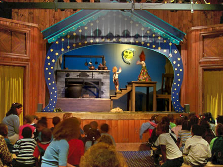 Swedish Cottage's Marionette Theatre