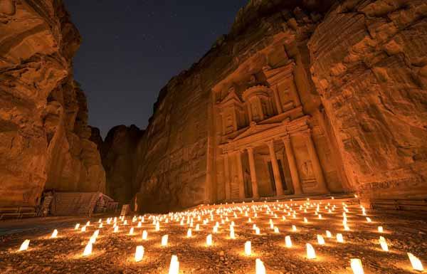 Ancient Petra South Of Jordan