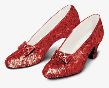 9 ruby slippers