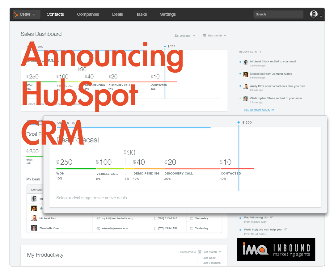 HubSpot CRM-Announcement