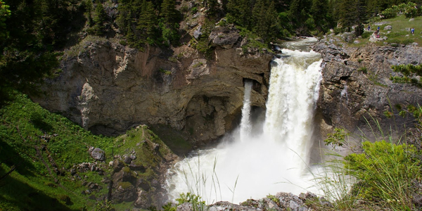 Natural Bridge Falls Montana