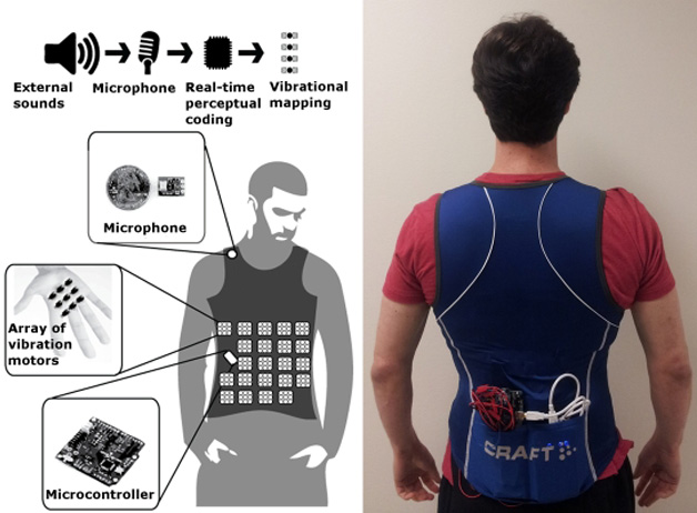 VEST To Help The Hearing Impaired To Hear!