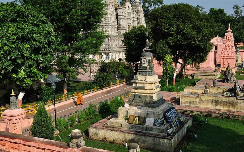 Mahabodhi Temple is in Bodh Gaya, India