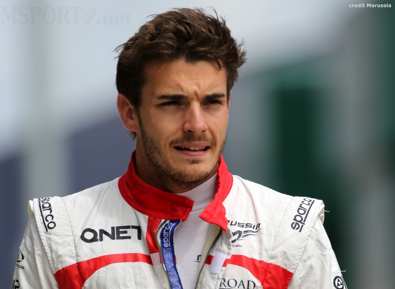 Jules Bianchi In Critical But Stable Condition