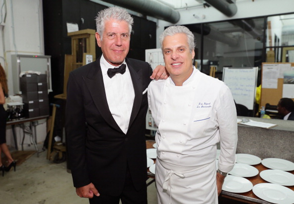 Ocean Liner Dinner Hosted By Anthony Bourdain, Frederic Morin, David McMillan, Andrew Carmellini, Eric Ripert, Daniel Boulud And Francois Payard - Food Network South Beach Wine & Food Festival