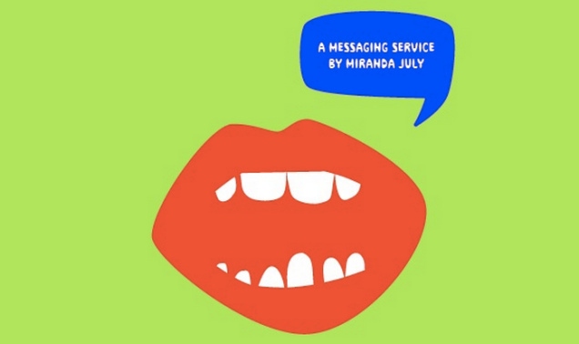 Miranda July's Somebody