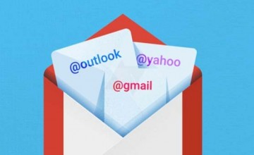 Gmail 5.0 app to support Outlook and Yahoo