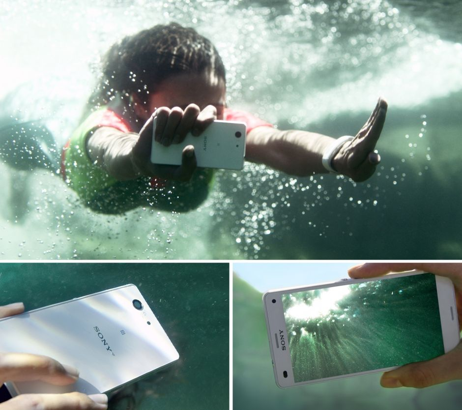 Sony Xperia Aquatech Store XPeria-Z3 Compact