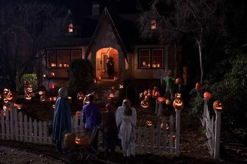 Halloween night trick