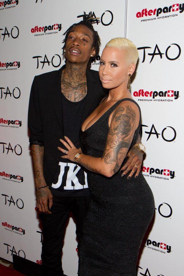Wiz Khalifa hosts the night at the Tao Nightclub inside the Venetian Hotel & Casino in Las Vegas, Nevada