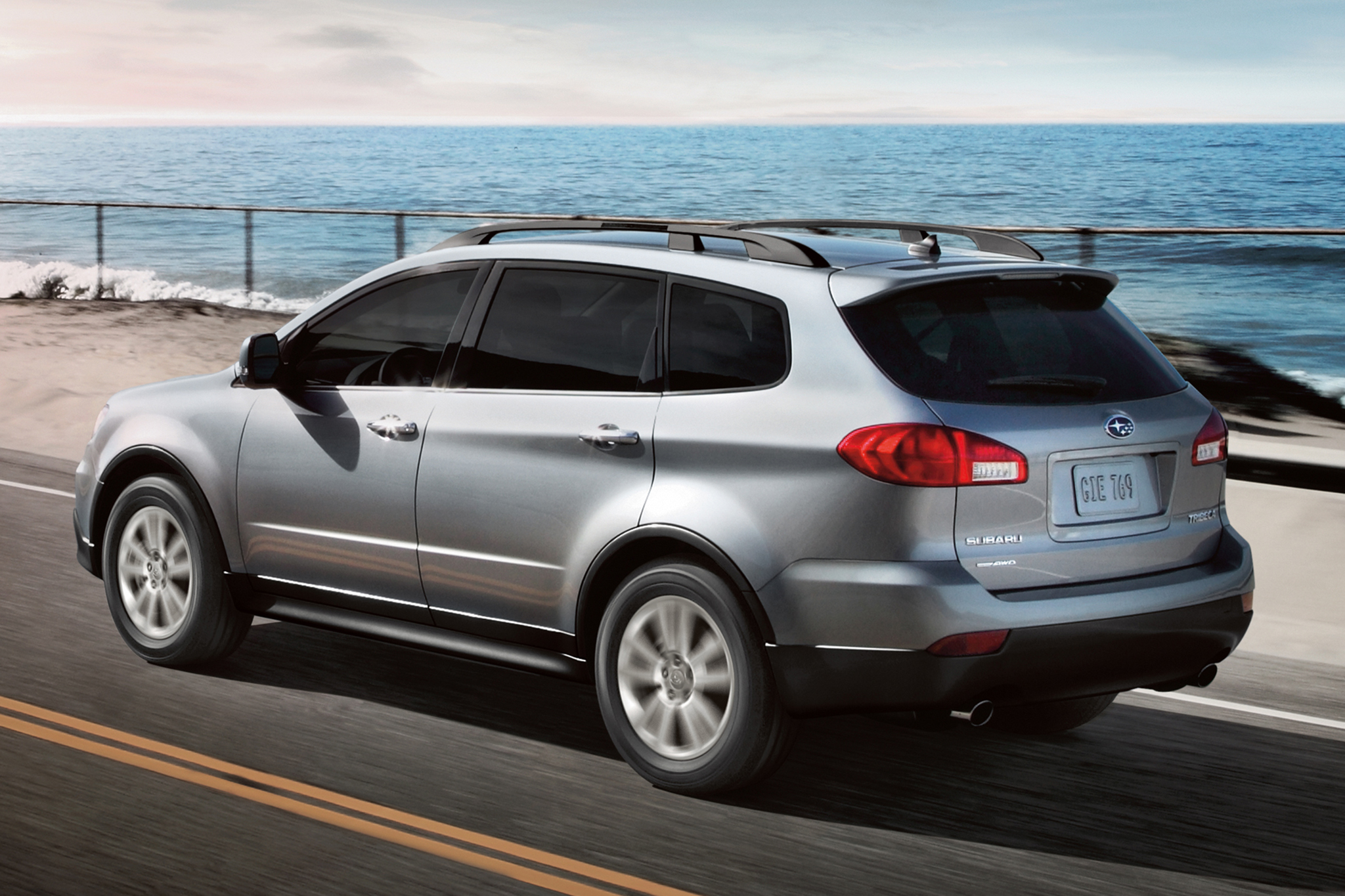 subaru-tribeca-rear-three-quarters
