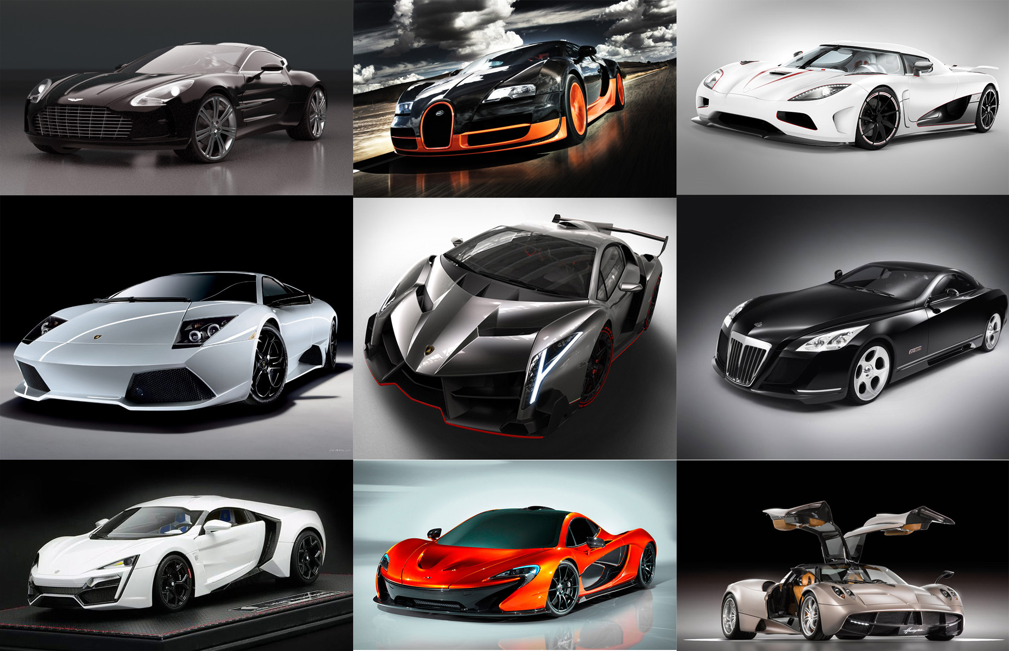 The 10 Most Expensive Cars For 2014! - Glozine