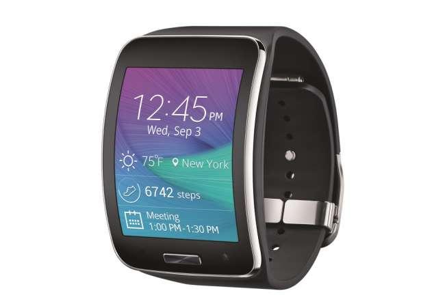 Samsung's Gear S smartwatch
