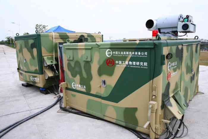 China Anti-Drone Laser Technology