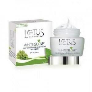 Lotus Herbals White Glow Skin Whitening & Brightening Gel Creme