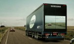 Samsung Invents Screen to Semi Trucks
