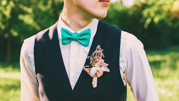 Colour and Texture of Bow Tie