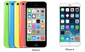 Iphone 5c as Iphones 6