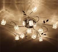 Artistic Aluminum Ceiling Light
