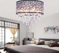 Drum Flush Ceiling Light