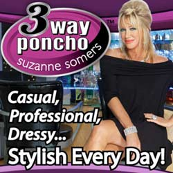 3 way Poncho Dress