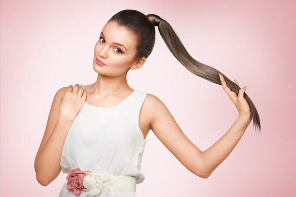 Half-Down Hairstyle